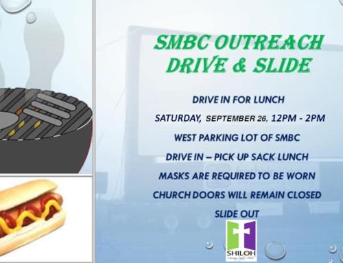 Shiloh Drive n' Slide on September 26